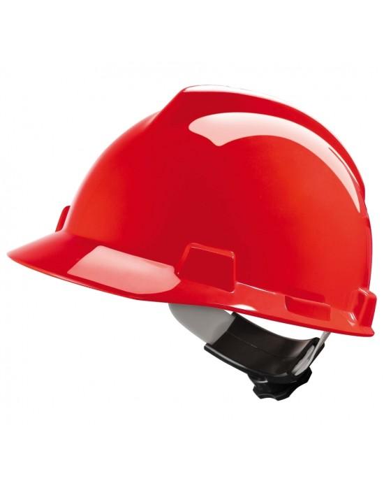 Каска V-Gard красная