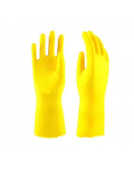 Перчатки латекс ворсовые