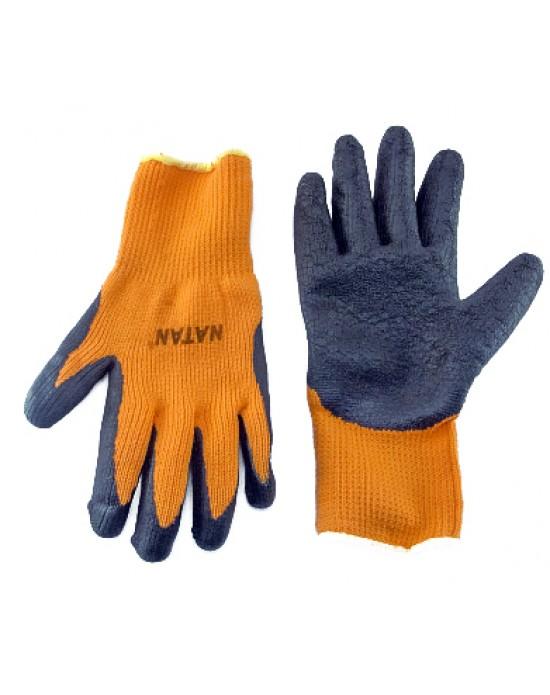 Перчатки Natan трикотажные с латексным обливом