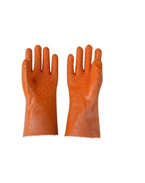 Перчатки латекс искусственный с антискользящей крошкой
