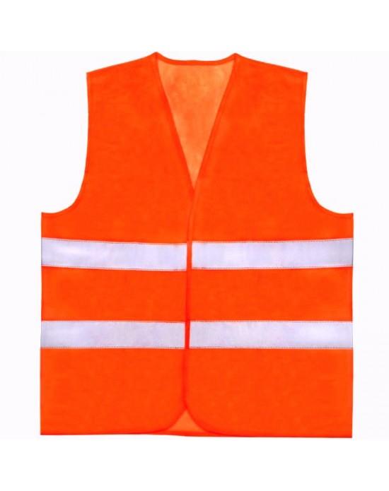 Сигнальный жилет цвет флуоресцентный оранжевый