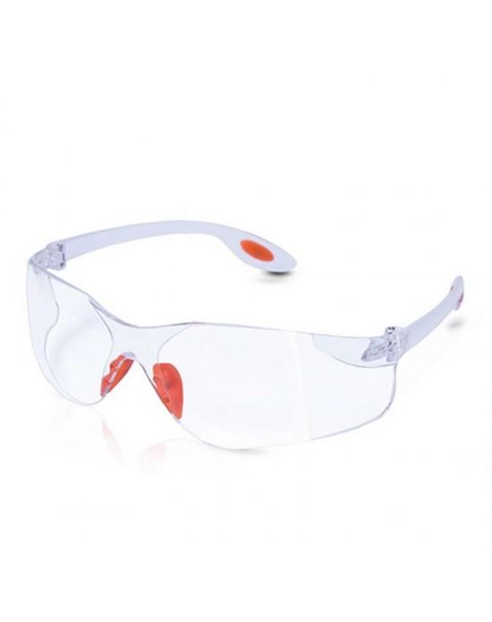 Очки защитные, открытого типа цвет линз: прозрачный