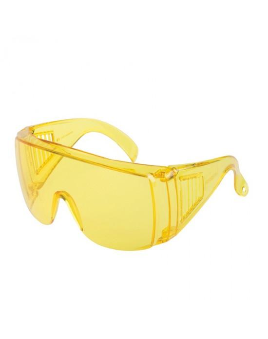 Очки защитные открытые тип Люцерна цвет линз: желтый