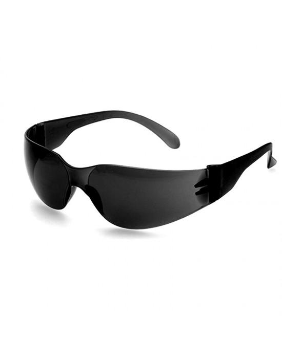 Очки защитные цвет линз: черный