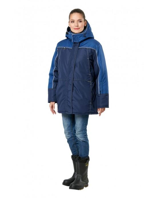 Куртка Фристайл женская синий/индиго