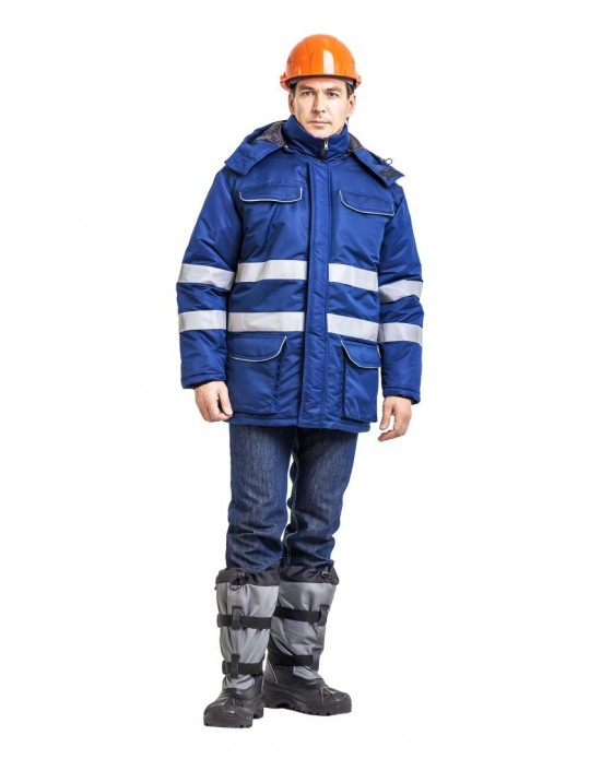 Куртка с жилетом Енисей синий