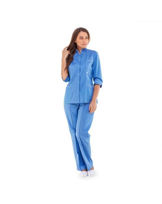 Куртка Ванда женская голубая