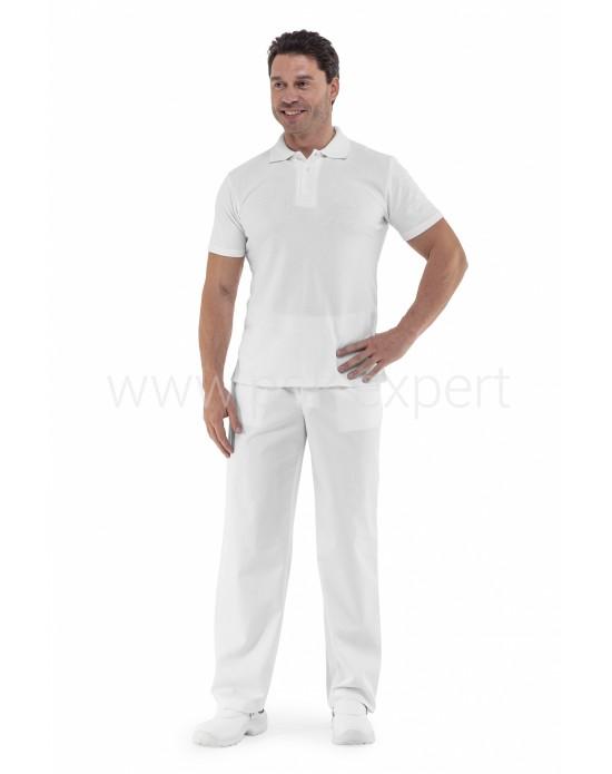 Брюки Крокус мужские белые