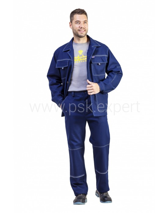 Костюм Акцент 1 Мужской Темно-синий