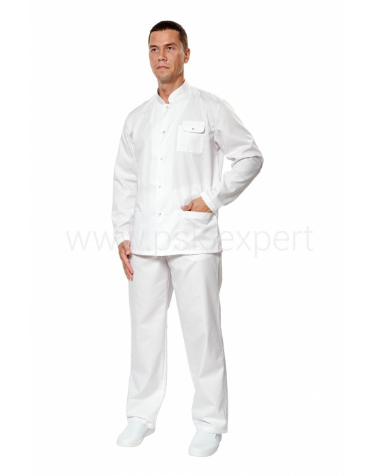 Куртка Крокус 1 мужская белая