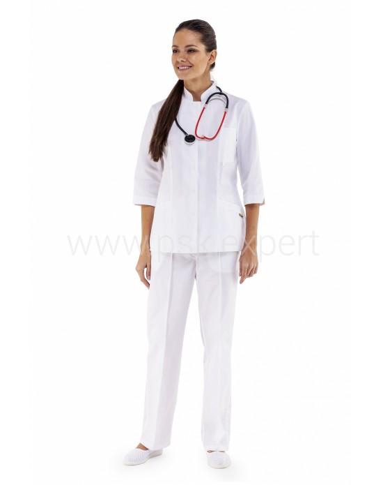 Куртка Ванда женская белая